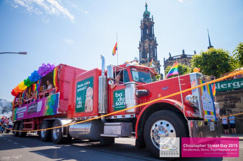 CSD Dresden on Tour