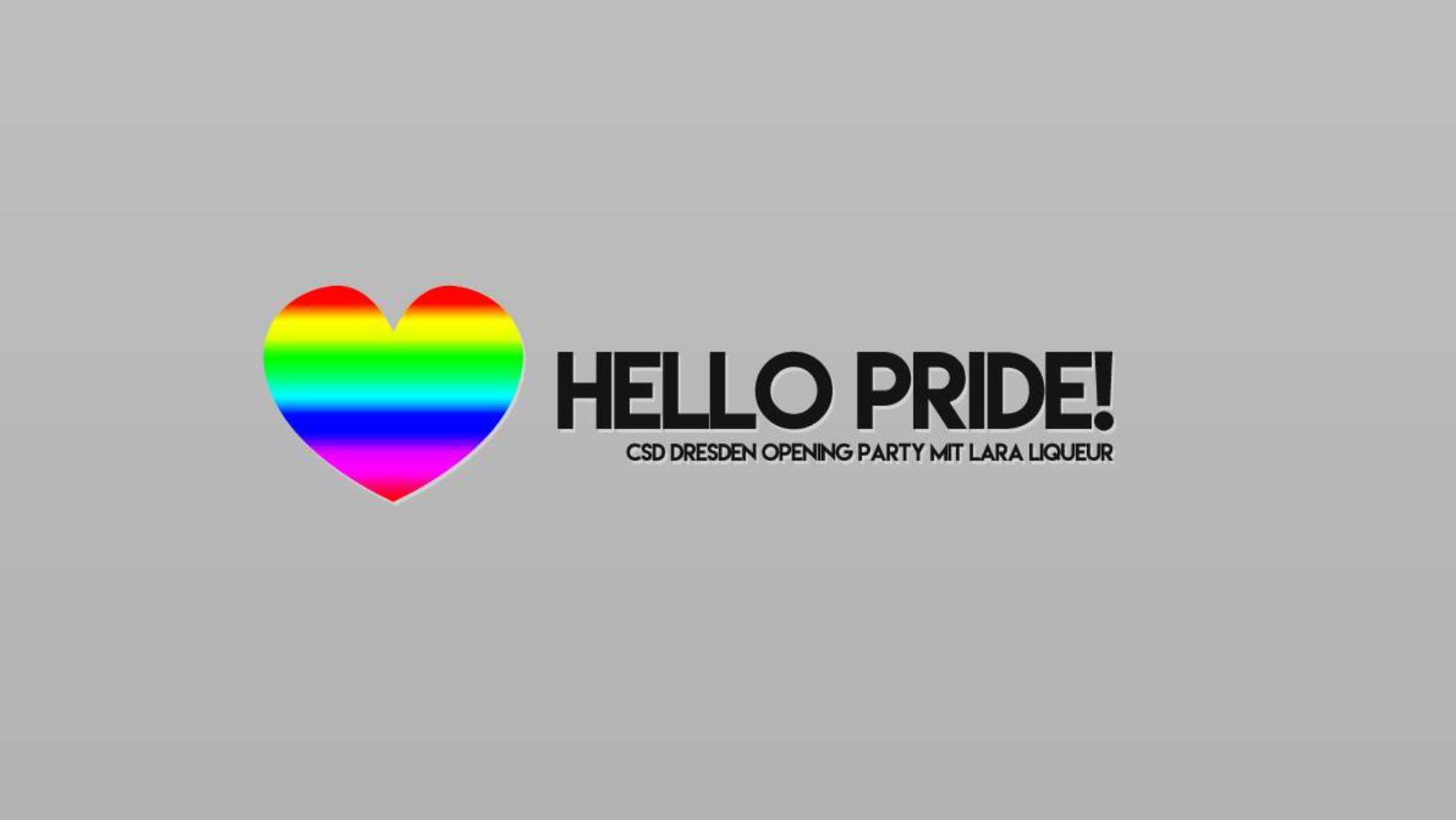 Hello Pride! – CSD Warm Up Party mit Lara Liqueur