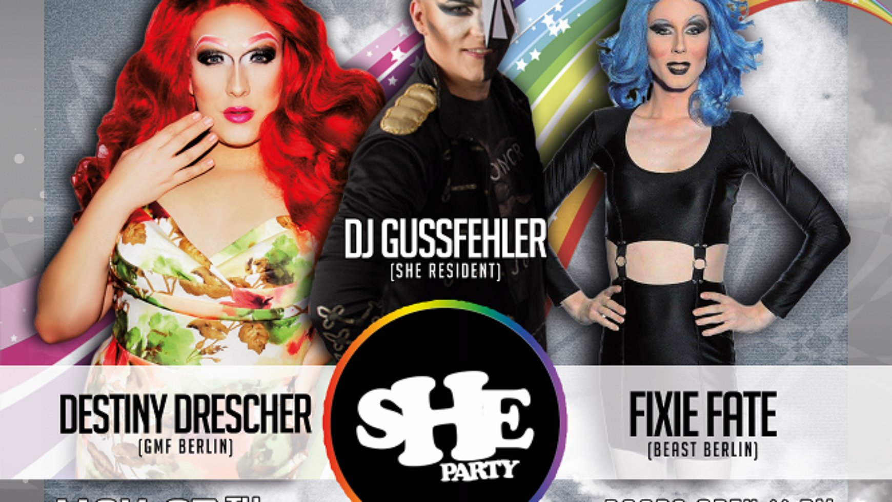 sHe Party – official CSD Party