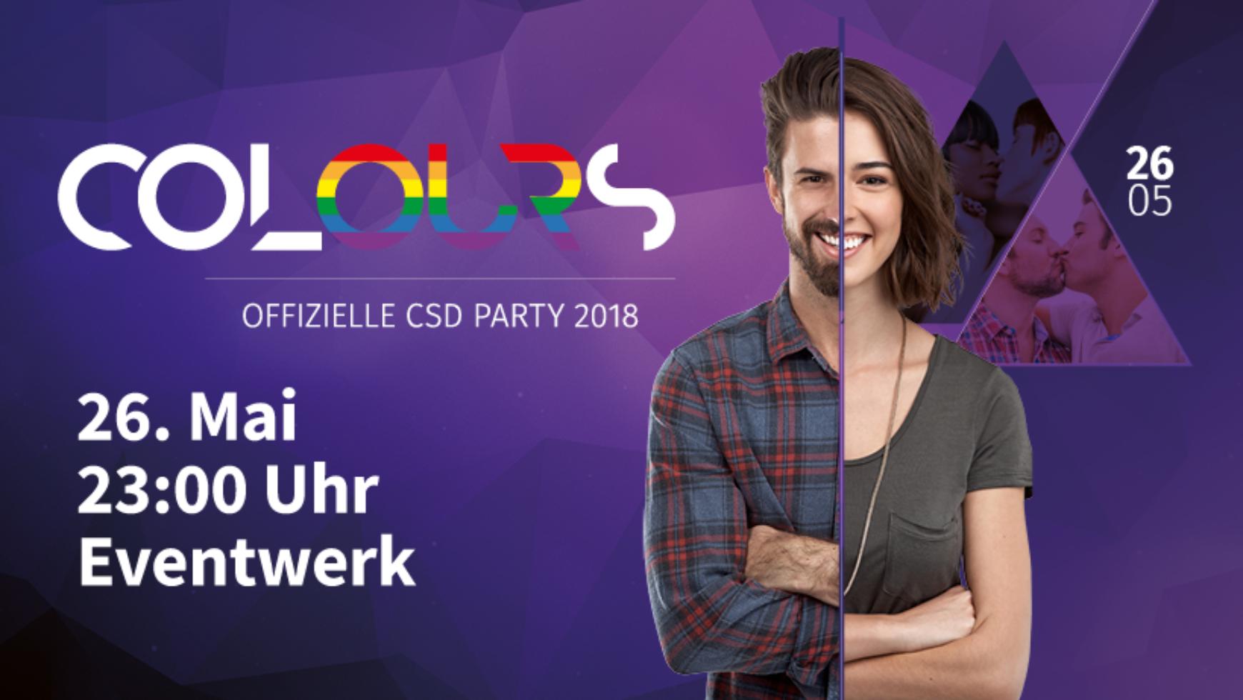Colours – Offizielle CSD Party