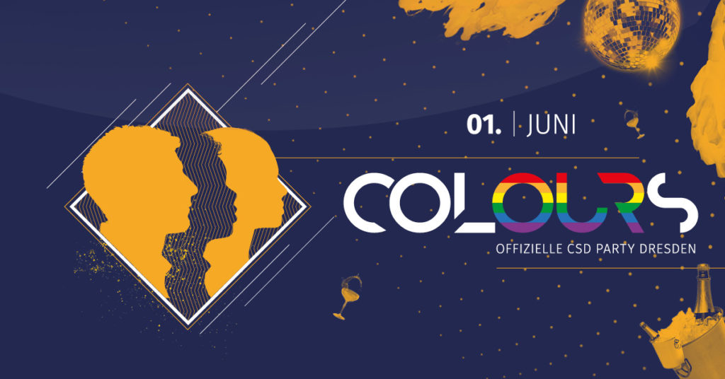 COLOURS – Offizielle CSD Party 2019