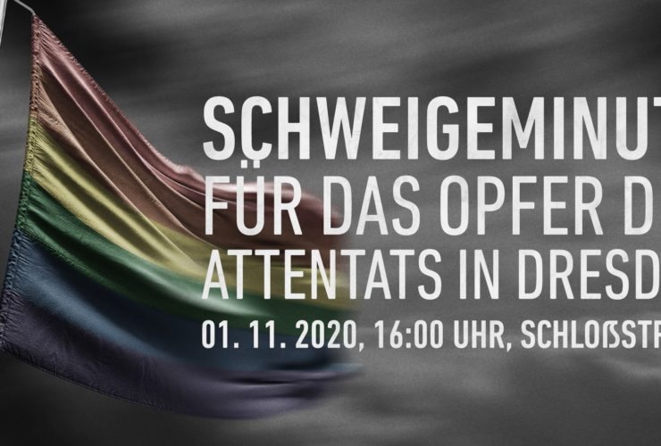 Offener Brief des CSD Dresden e.V. zum Attentat am 4.10.2020